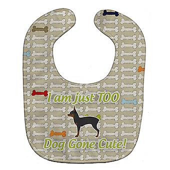 Carolines Treasures  BB6492BIB Toy Fox Terrier Dog Gone Cute Baby Bib