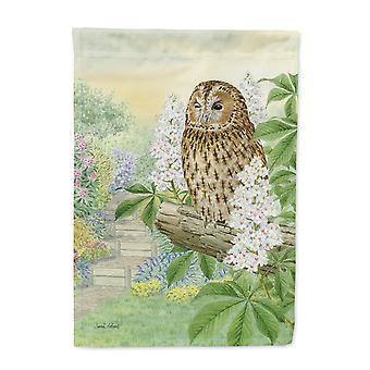Carolines Treasures  ASA2101GF Tawny Owl Flag Garden Size