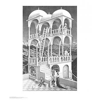 Belvedere Poster Print by MC Escher (22 x 26)