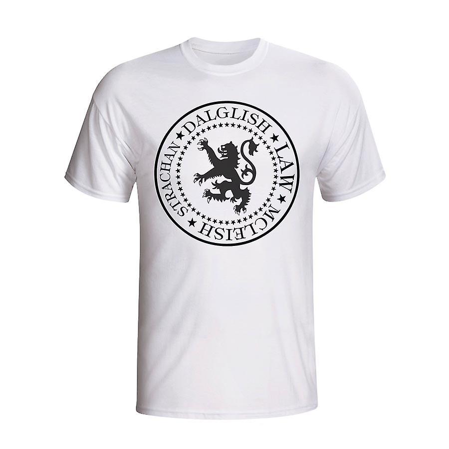 Scotland Presidential T-shirt (white)