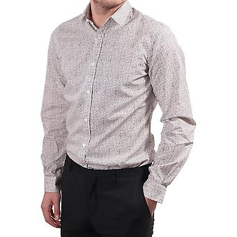 Paul Smith London Paul Smith Mens Shirt Tailored Single Cuff  With B
