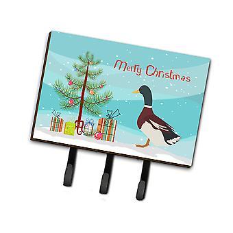 Carolines Treasures  BB9223TH68 Rouen Duck Christmas Leash or Key Holder
