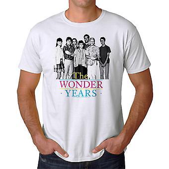 Underligt år simpel Cast mænds hvid T-shirt