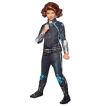 Black Widow Deluxe Avengers Marvel Hero Superhero Girls Costume