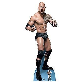 De Rock Dwayne Johnson vechten houding WWE Lifesize karton gestanst / Standup