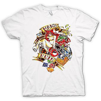 Camiseta mujer - ruina del hombre moderno - Pin-Up Girl
