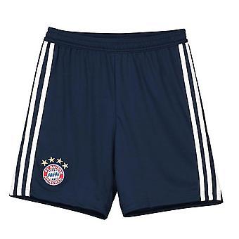 2018-2019 Бавария Мюнхен Adidas Главная шорты (ВМС) - дети