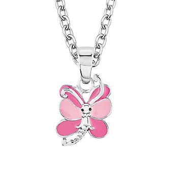 Princess Lillifee child kids necklace silver Butterfly 2017956