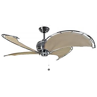 Ceiling fan Spinnaker Brown with pull cord 102 cm / 40
