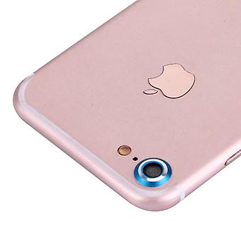 Camera protection protector ring for Apple iPhone 7 Blue