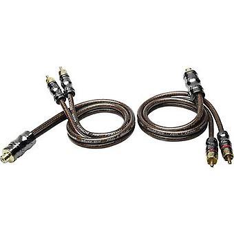 RCA Y cable 0.50 m Sinuslive YX-2 [1x RCA socket (phono) - 2x RCA plug (phono)]