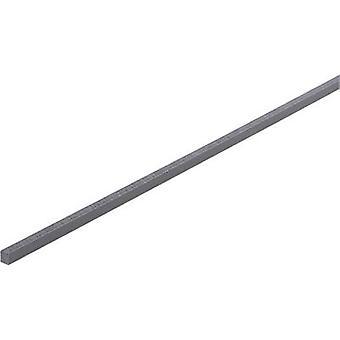 PVC Square Rail (L x W x H) 500 x 5 x 5 mm 1 pc(s