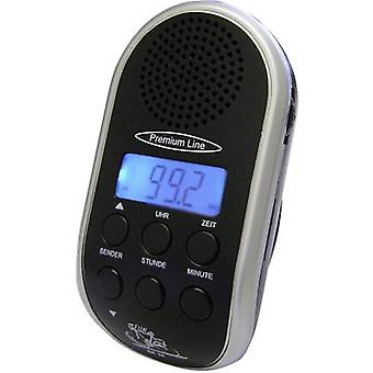 Bicycle radio Security Plus BR 24 Black, Silver