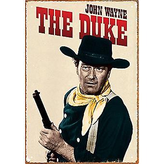 John Wayne znak Metal książę