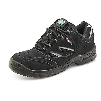 Click Dual Density Safety Trainer Shoe Black. S1P Src - Cddtb