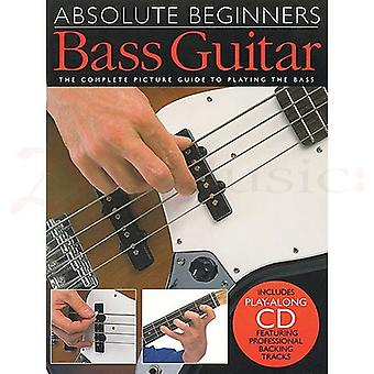 Absolute Beginners Bass Guitar Book & CD