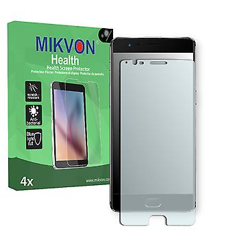 OnePlus 3 Screen Protector - Mikvon Health (Retail Package with accessories) (intentionally smaller than the display due to its curved surface)