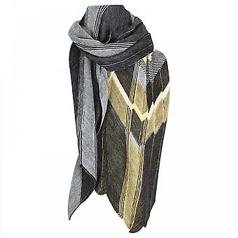 Crea Concept Wool Blend Fine Knit Long Scarf