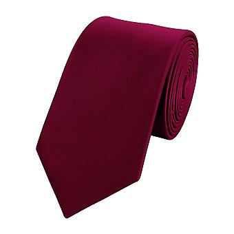 Tie tie tie tie wide 6cm red monochrome Fabio Farini