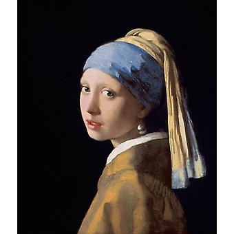 Girl with a Pearl Earring you, Johannes Vermeer, 46.5 x40cm