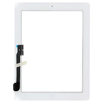 Für das iPad 4 - Digitizer Versammlung - weiß - Premium-Qualität