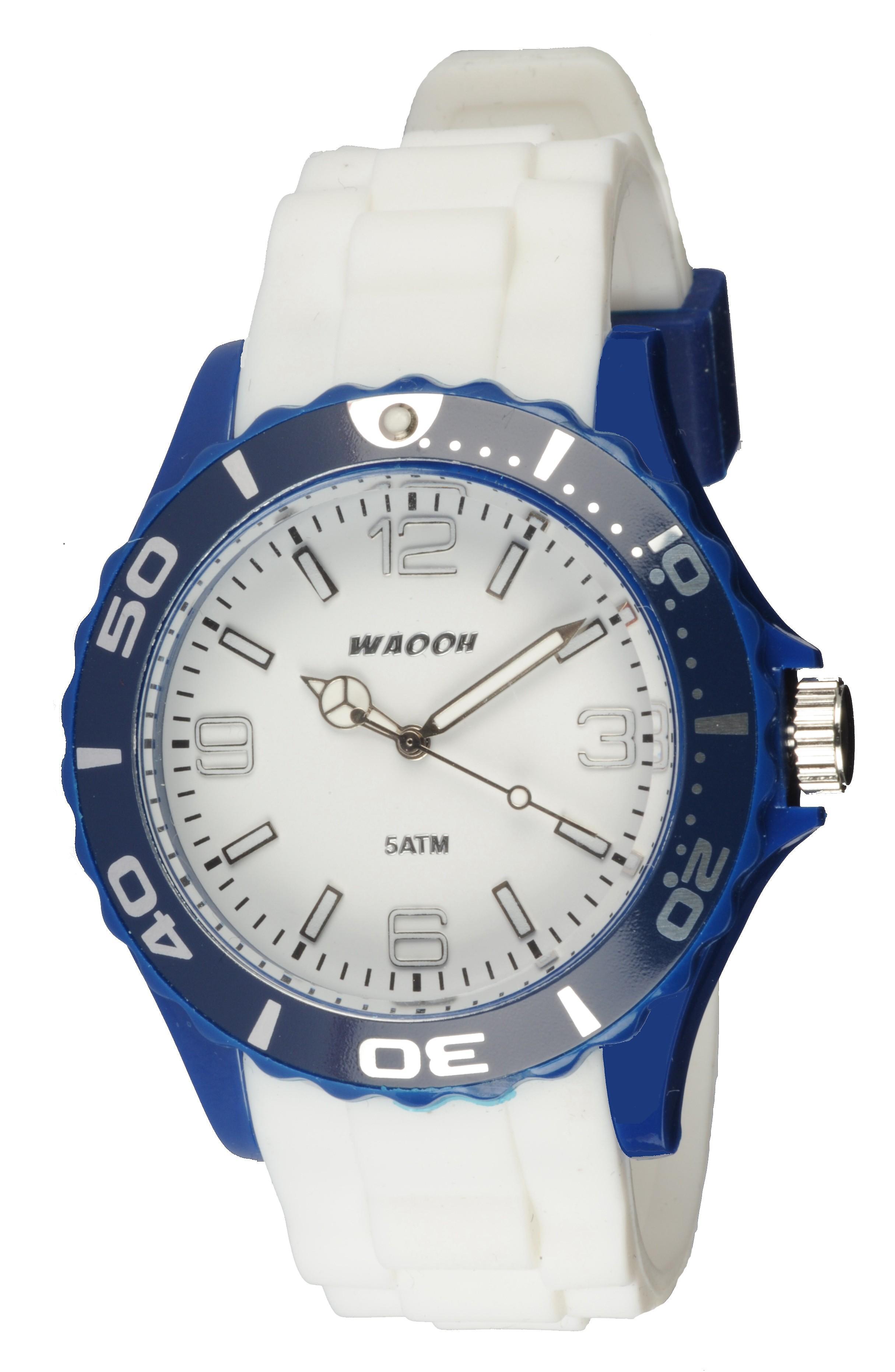 Waooh - Watch MC42 & Blue Bicolor