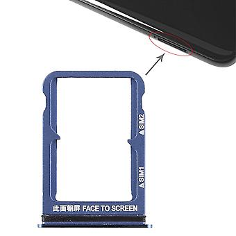 For Xiaomi MI 8 cards Halter SIM tray slide holder spare parts accessories blue