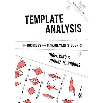 Template Analysis for Business and Management Students by Nigel King