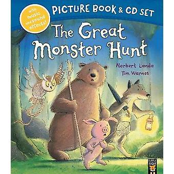 Das große Monster Hunt Buch & CD durch das große Monster jagen Buch &