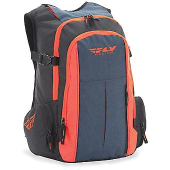 Fly Racing Black-Orange-Blue 2018 Back Country Hydration Pack with Reservoir