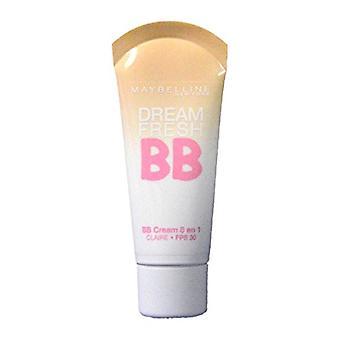 3 x Maybelline New York Dream Fresh BB Cream 8in1 SPF30 - Claire (Light Skin)