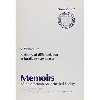 A Theory of Differentiation in Locally Convex Spaces / Memoirs No. 212