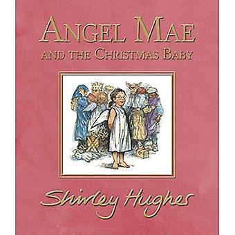 Mae de l'ange et le bébé de Noël