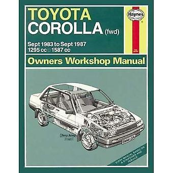 Toyota Corolla (FWD) 1983-87 Owners' Workshop Manual (Service & repair manuals)