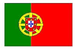 Portugal/Portuguese Flag 5ft x 3ft (100% Polyester)Eyelets For Hanging