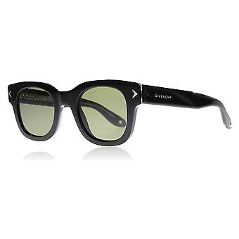 Givenchy 7037/S Y6C Black 7037/S Round Sunglasses Lens Category 3 Size 47mm