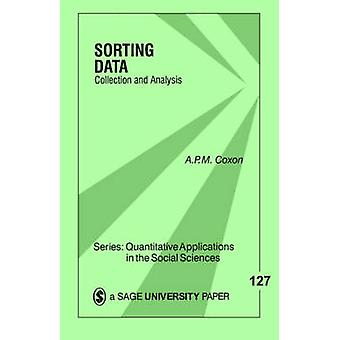 Sorting Data Collection and Analysis by Coxon & Anthony Peter MacMillan
