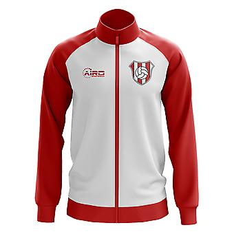 River Plate Concept Football Track Jacket (White)