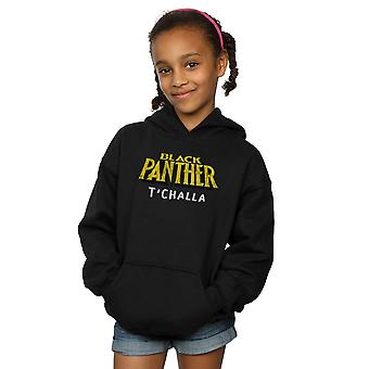 Marvel Girls Black Panther AKA T'Challa Hoodie