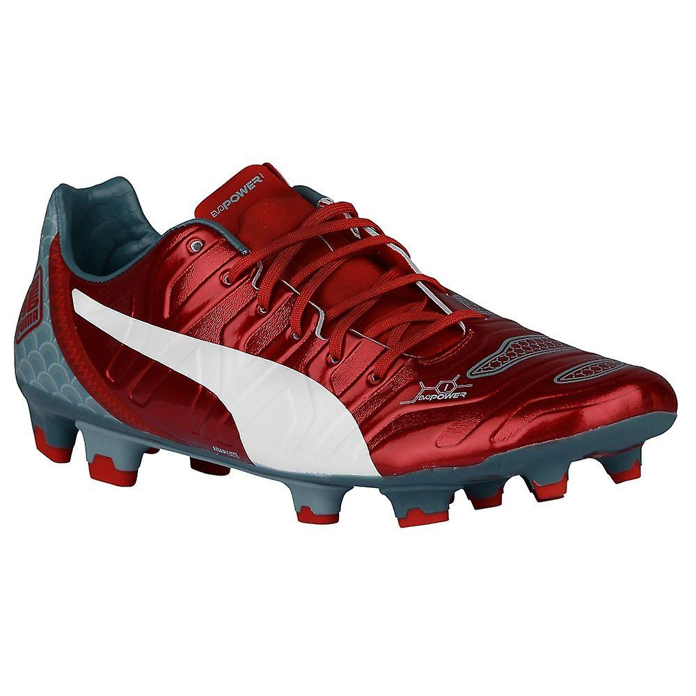 Puma Evopower 1.2 Firm Ground Football Boots (Red)