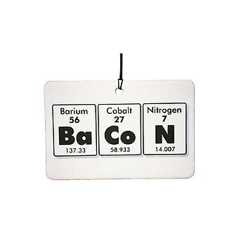 Periodic Bacon Car Air Freshener