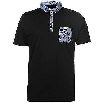 Pierre Cardin Herren gedruckt Tasche Jersey Polo-Shirt T-Shirt Kurzarm Top