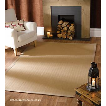 Tapis naturel chevrons