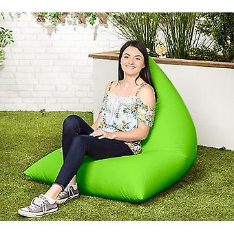 Lime Water Resistant Outdoor Filled Bean Bag Lounger