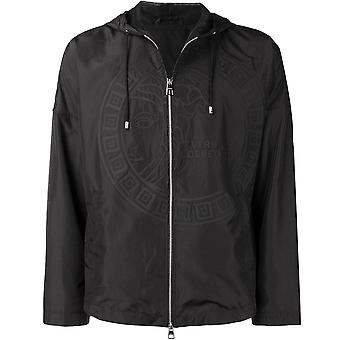 Versace Collection Large Logo Jacket Black
