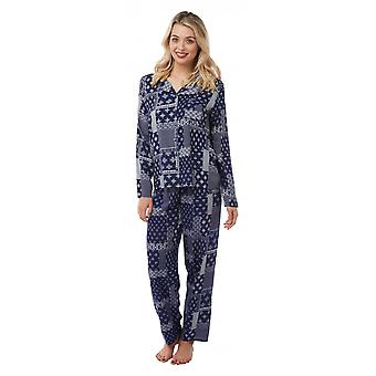 Camille Camille Womens Printed Viscose Pyjama Sets