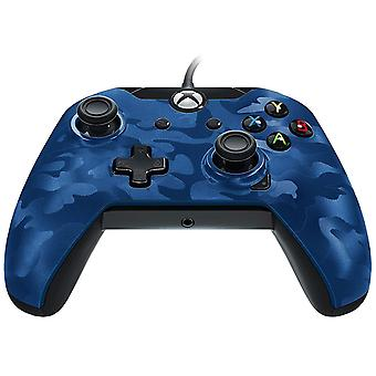 PDP-Wired Controller für Xbox One-Blue Camo