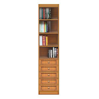 Modular Bookcase with Drawers
