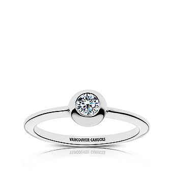 Vancouver Canucks - Vancouver Canucks Engraved Diamond Ring