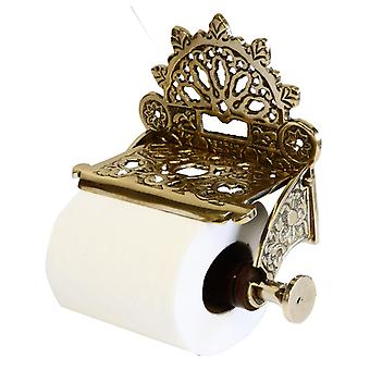 Brass Toilet Roll Holder nice and strong